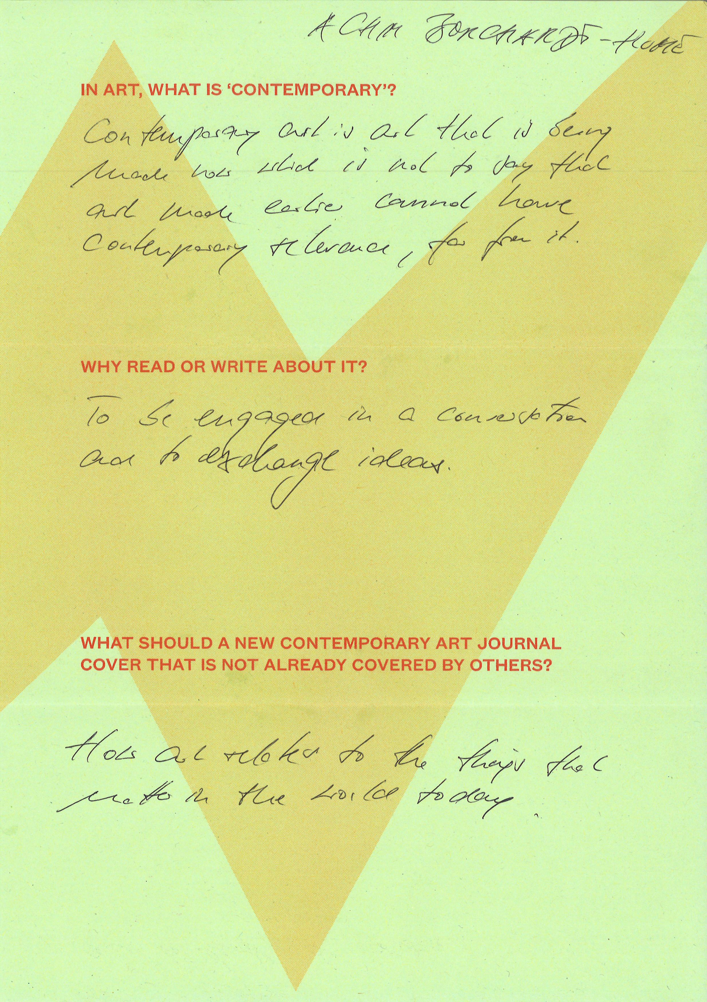 Burlington Contemporary - Journal - Burlington Contemporary ...