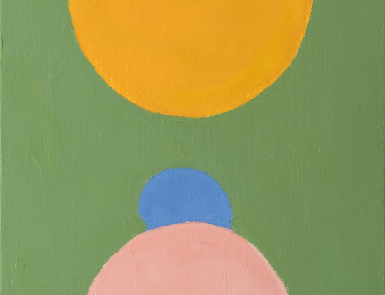 Etel Adnan and Philip Taaffe