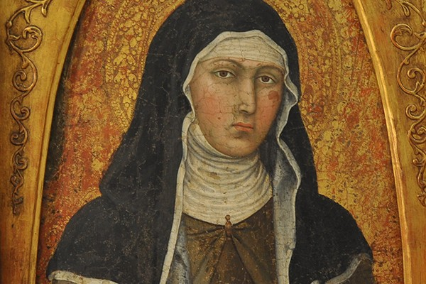 Detail of St Clare