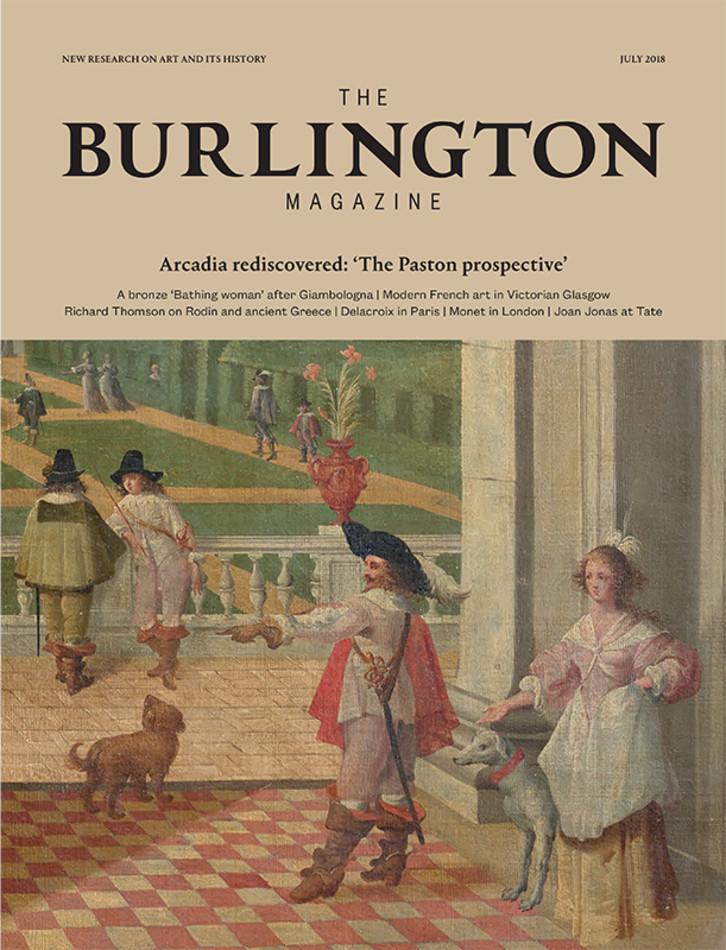 . July 2018   1384   Vol 160   Back issues   Archive   The Burlington
